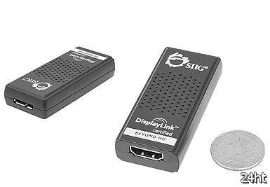 Адаптер SIIG USB 3.0 to HDMI  с аудио