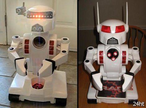 Апгрейд игрушечного робота (видео)