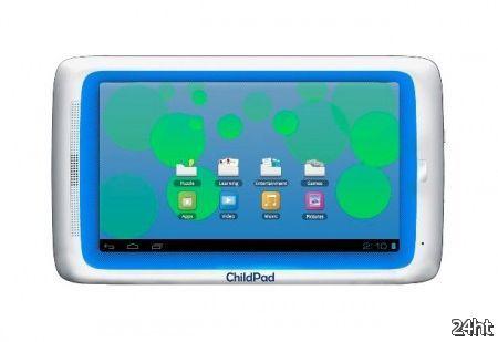 Archos представила планшет для детей ChildPad на базе Android 4.0
