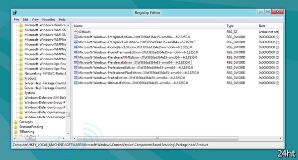 Бета-версия Windows 8 показывает, что изданий новой ОС будет больше — 9