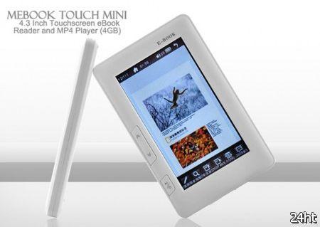 Chinavasion представила читалку Mebook Touch Mini