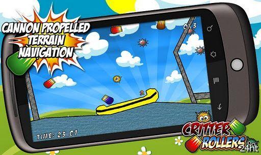 Critter Rollers 1.2 - катись и прыгай через интересные и уровни