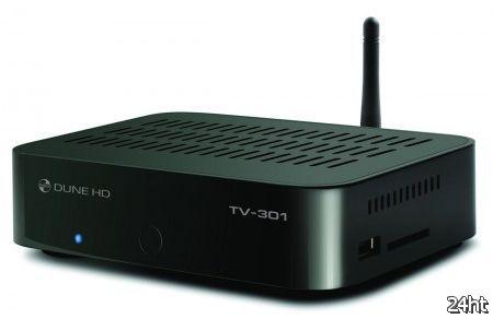Dune HD TV-301: компактный медиаплеер/IPTV - приставка со встроенным жестким диском