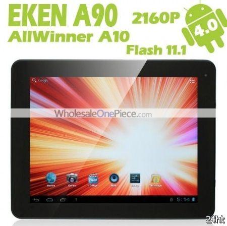 Eken показала планшет начального уровня A90