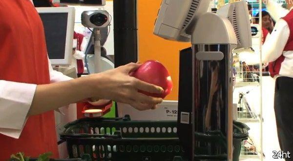 Фруктовый сканер от Toshiba (видео)