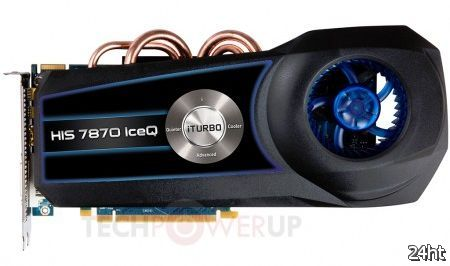 HIS анонсировала свою серию видеокарт Radeon HD 7800