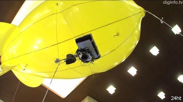 Камера-дирижабль (видео)
