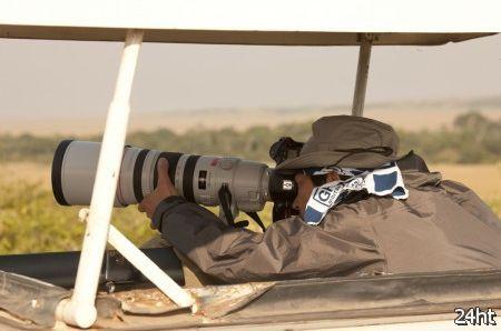 Кандидат на должность Canon 5D Mark III проходит тестирование в Кении