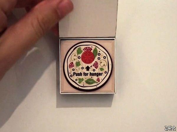 Кнопка для заказа пиццы (2 видео)