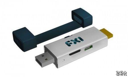 Компьютер FXI Cotton Candy размером с флэшку доступен для предзаказа