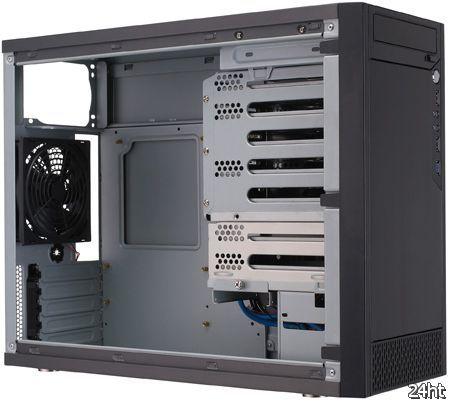 Корпус AIO Myriad позволяет подключать пять HDD к одному порту SATA материнской платы