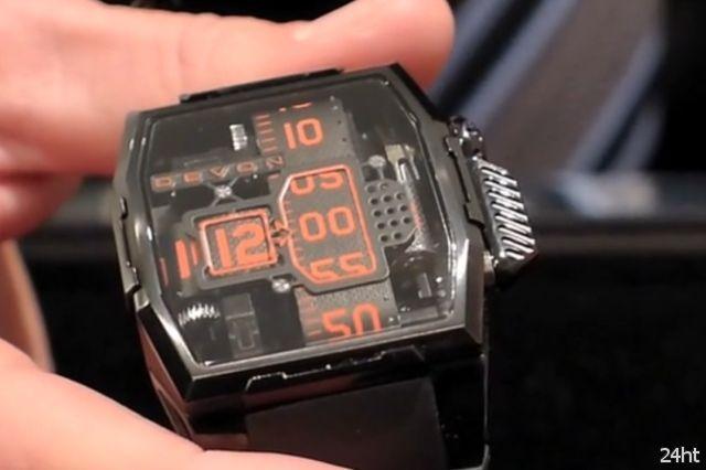 Креативные наручные часы Tread 2 (видео)