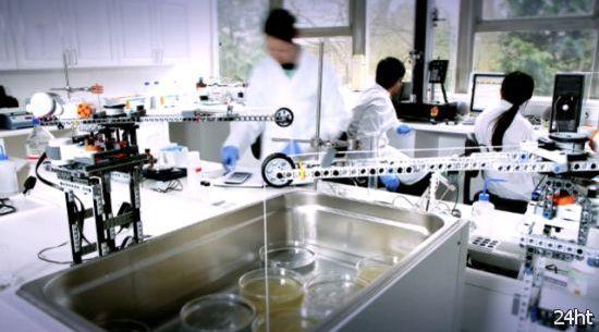 Лабораторное оборудование из конструктора Lego (видео)