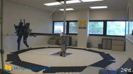 MABEL - самый быстрый робот с двумя ногами