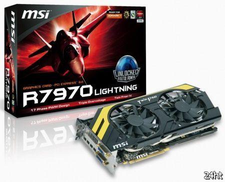 MSI официально анонсировала видеокарту R7970 Lightning