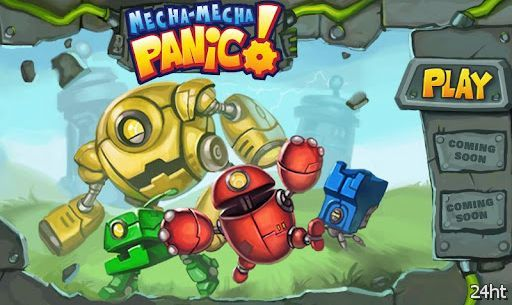 Mecha-Mecha Panic! 1.0.1 - отстреливаемся от роботов