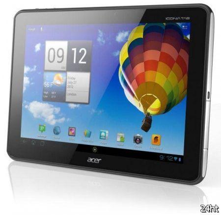 Начался прием заявок на планшет Acer Iconia Tab A510