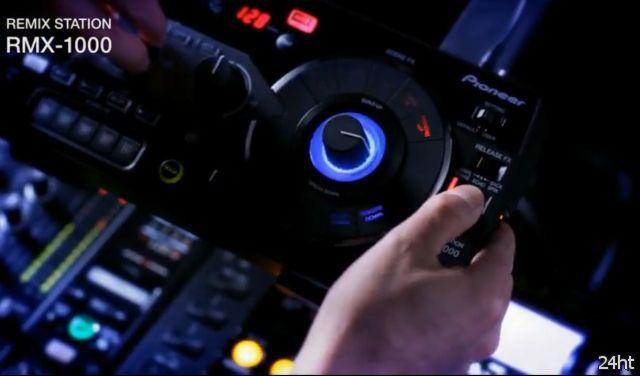 Новый DJ-пульт от Pioneer (видео)