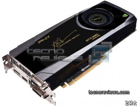 PNY готовит графическую карту GeForce GTX 680 XLR8 Enthusiast Edition
