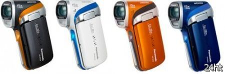 Panasonic опубликовала цены на линейку видеокамер 2012 года