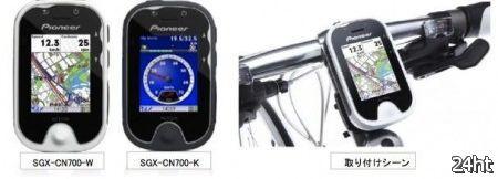 Pioneer PotterNavi: 3G GPS-навигатор для велосипедистов