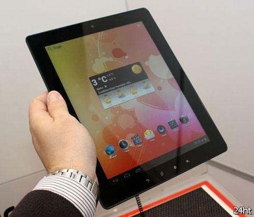 Планшет MultiPad 9.7 на выставке CeBIT 2012 (видео)