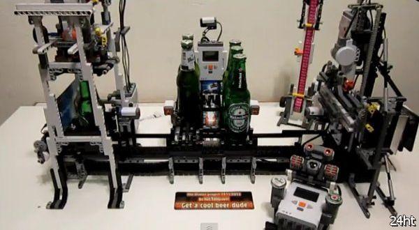 Полезный пивной гаджет из Lego (видео)