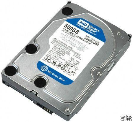 Поставики жестких дисков в первом квартале 2012 года востановятся на 80%