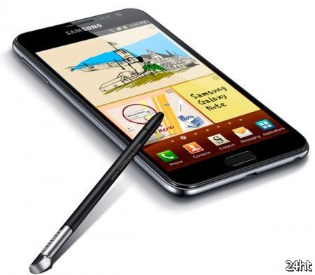 Поставки Samsung Galaxy Note достигли 2 миллионов
