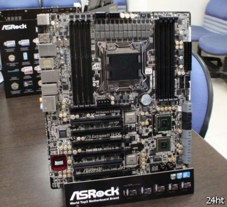 Появились первые фотографии новой итерации материнской платы ASRock X79 Extreme11