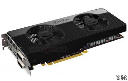 Появились рендеры видеокарты EVGA GeForce GTX 680 Signature 2 с двумя вентиляторами охлаждения