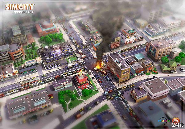 Продолжение SimCity потребует постоянного интернет-соединения