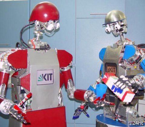 Робот ARMAR готов заменить человека на кухне