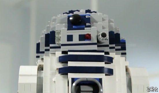 Робот R2-D2 из Lego (видео)