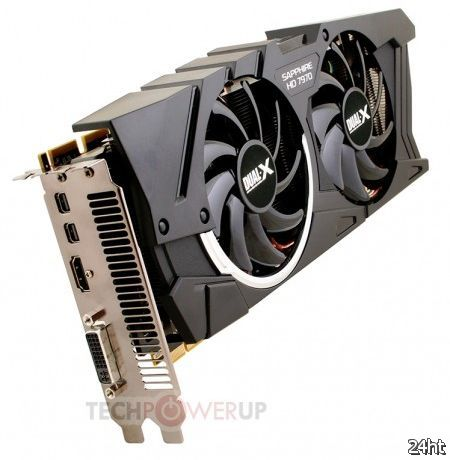 SAPPHIRE представила видеокарту HD 7970 Dual-X OC Edition