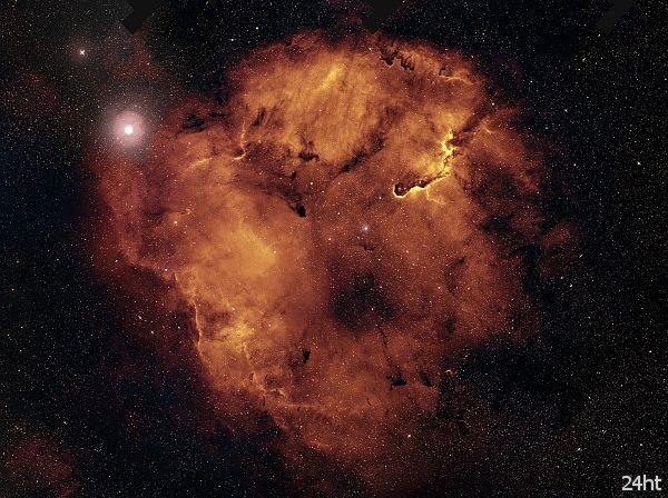 Шикарное фото эмиссионной туманности IC 1396