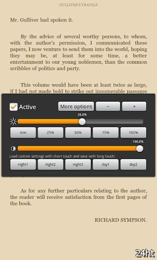 ScreenDim 1.09 - Утилита для регулирования яркости и контраста