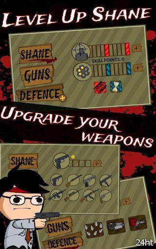 Shane Reaction: Zombieland 1.0 - отстреливаемся от зомби