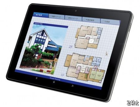 Sharp представила 10-дюймовый планшет RW-T110