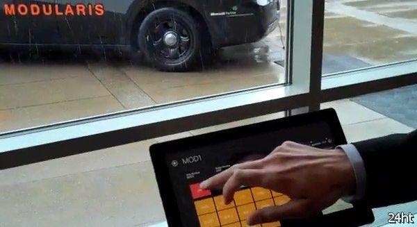 Система безопасности автомобиля на базе Windows 8 (видео)