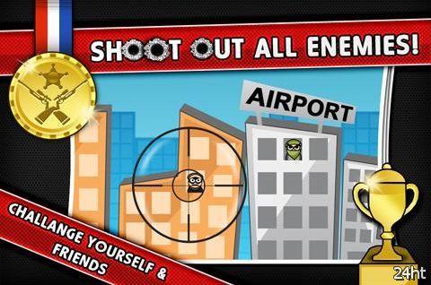 Sniper Attack 1.0.0 - снимаем бандитов в окнах
