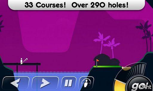 Super Stickman Golf 1.7 - аркадный гольф