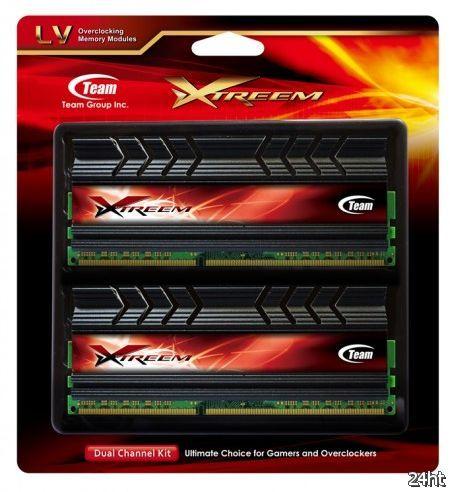 Team Group представила двухканальные наборы модулей памяти Xtreem LV DDR3-2800