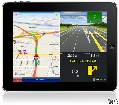 В России iPad стал навигатором