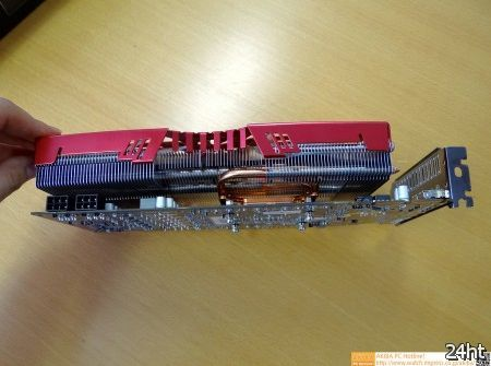 В Сети появились фото видеокарты Zalman Radeon HD 7950