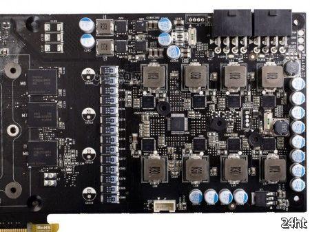 Видеокарта Colorful GTX 680 iGame Kudan имеет модульную подсистему питания