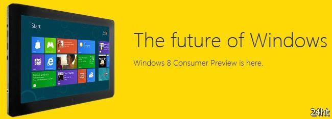 Выпущена бета-версия Microsoft Windows 8