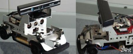 ZMP анонсировала нового робота, управляемого Kinect