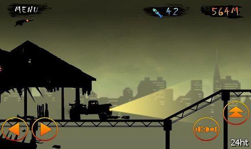 Zombie vs Truck 1.01 - едем на машине и давим зомби