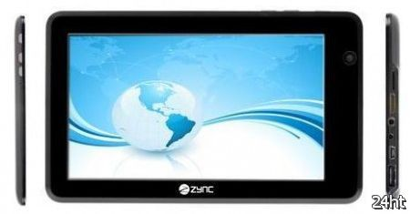 Zync Z990  - первый планшет с ICS в Индии